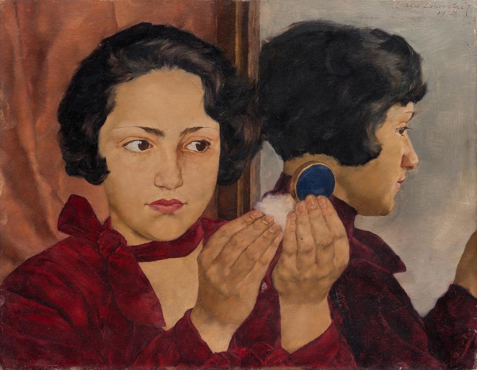 """Das Städel Museum erwarb 2014 das Hauptwerk """"Russisches Mädchen mit Puderdose"""" von Lotte Laserstein (1898–1993)."""