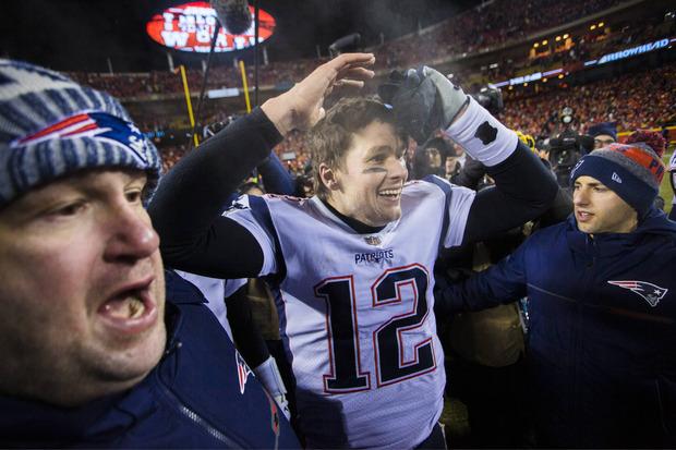 Jubelt Tom Brady über seinen sechsten Super-Bowl-Triumph?