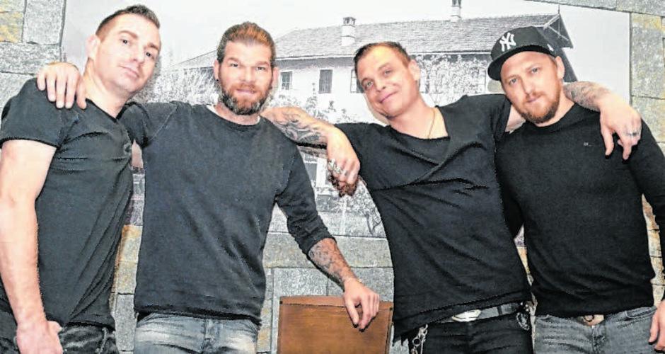 Jonas Notdurfter, Jochen Gargitter, Philipp Burger und Christian Fohrer (v.l.) werden in Telfs zu hören sein.
