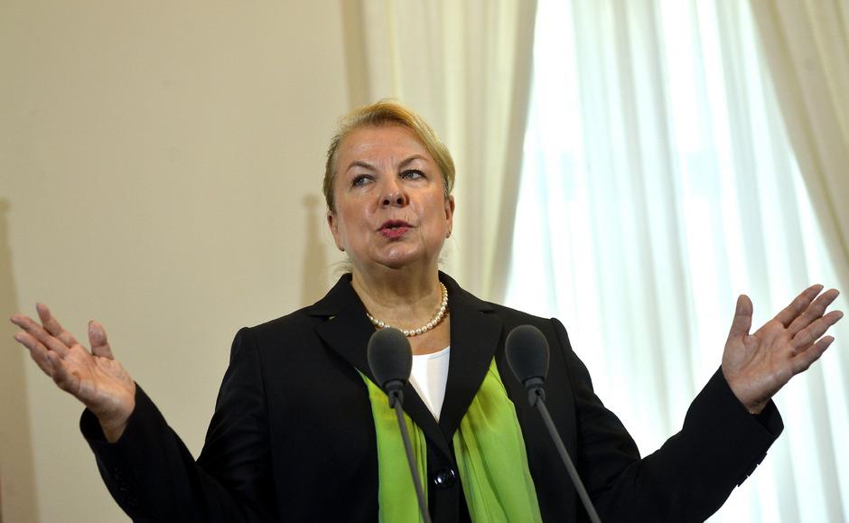 Sozialministerin Beate Hartinger-Klein.