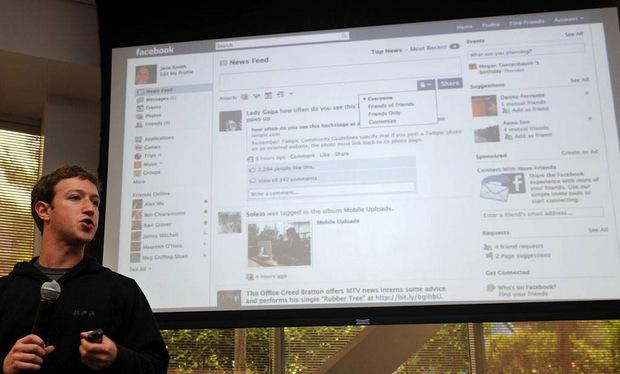 2009 war auch das Jahr, in dem Facebook mit seinem Echtzeit-Newsfeed an den Start ging. Das Feature kam erst gar nicht gut an, viele erinnerte es zu sehr an Twitter.