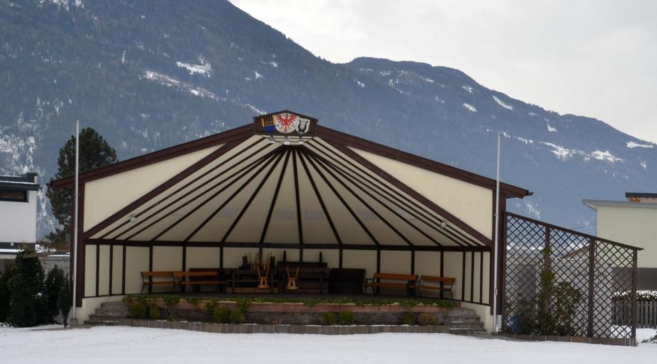 Im Budget schlägt die Neugestaltung rund um den Pavillon mit 355.000 Euro zu Buche.