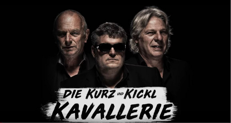 """Ulrich Troy, George Nussbaumer und Wolfgang Verocai haben sich für """"Die Kurz & Kickl Kavallerie"""" als """"Baggerboys"""" zusammengetan."""