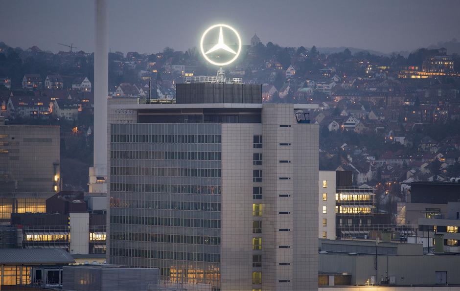 Die Daimler AG in Stuttgart.