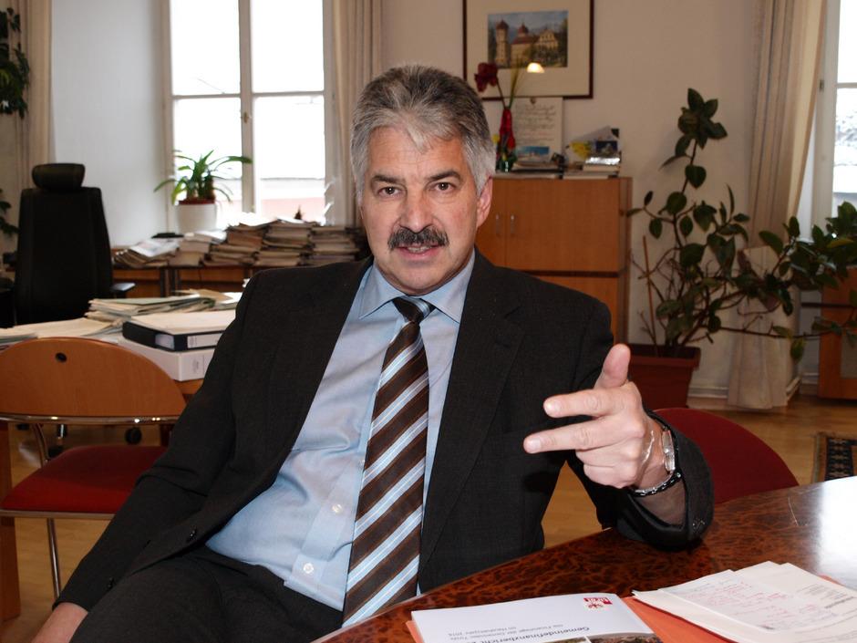 Bezirkshauptmann Raimund Waldner.