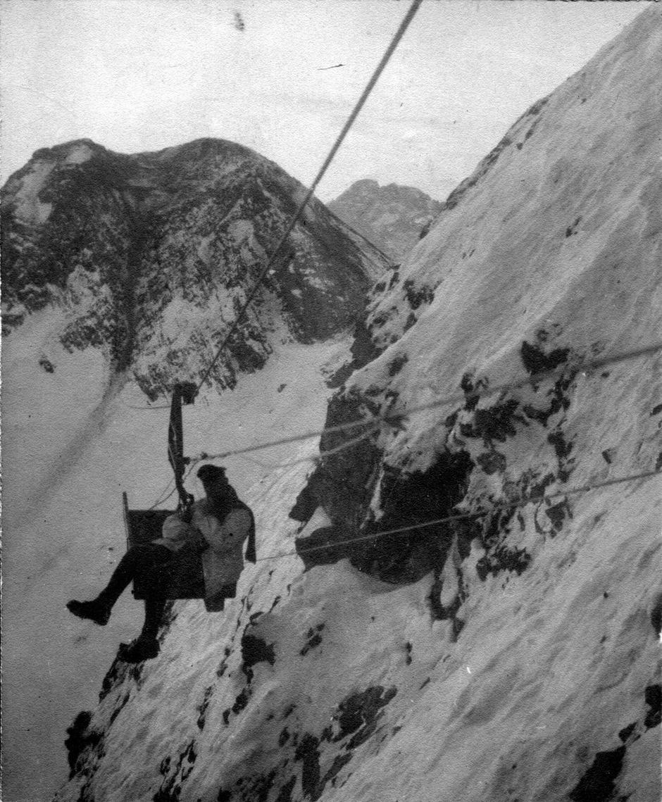 Per Seilbahn zur Col-di-Lana-Spitze: Wegbereiter im Ersten Weltkrieg.