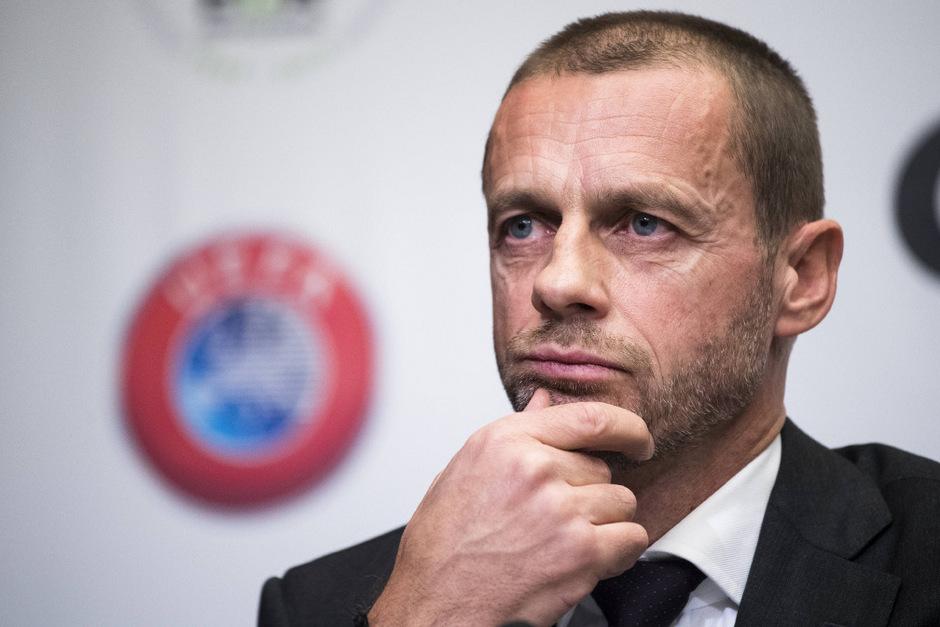 Bleibt an der Spitze der UEFA: Aleksander Ceferin.