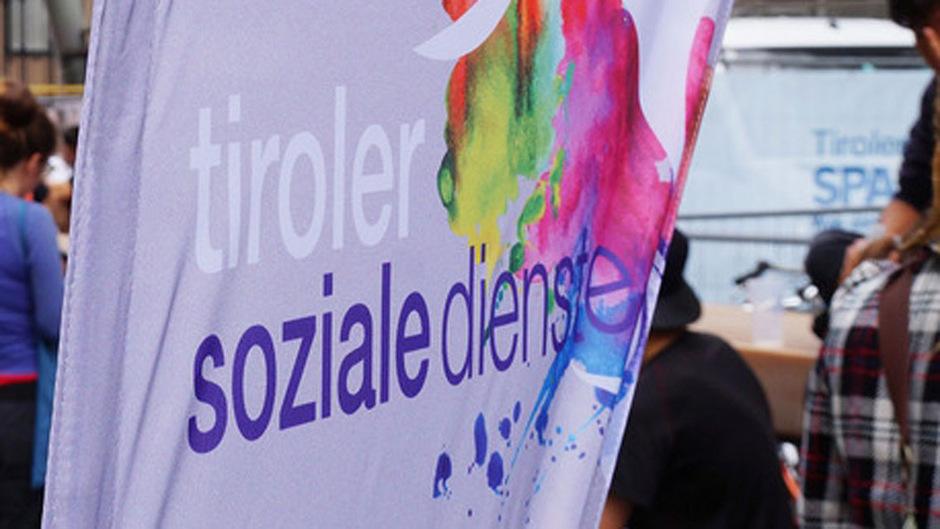 Das Logo der Tiroler Soziale Dienste.