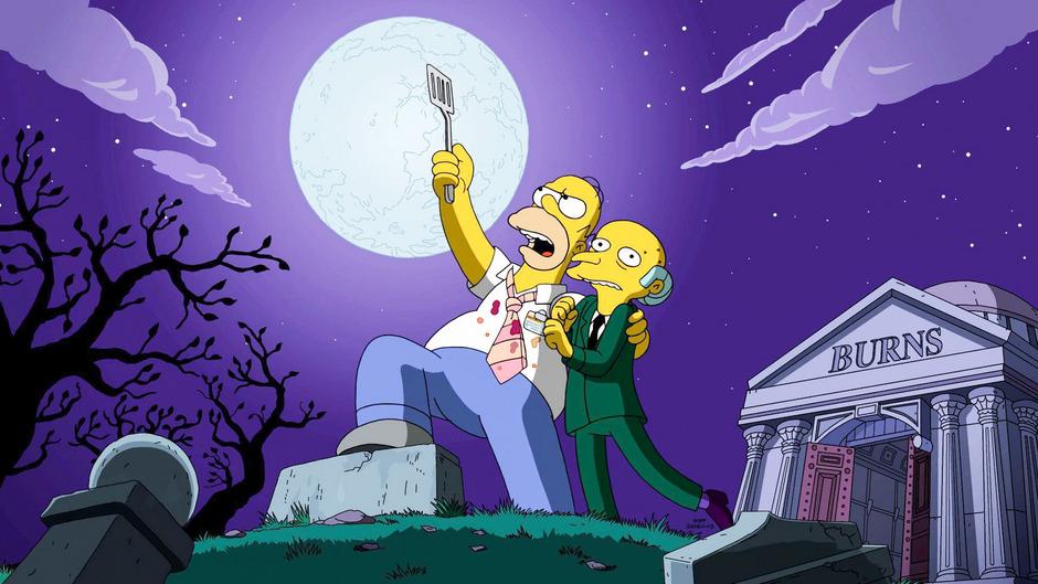 """Als eigene Serie wurde """"Die Simpsons""""  bei """"Fox"""" erstmals 1989 ausgestrahlt und entwickelte sich schnell zum Publikumsliebling."""