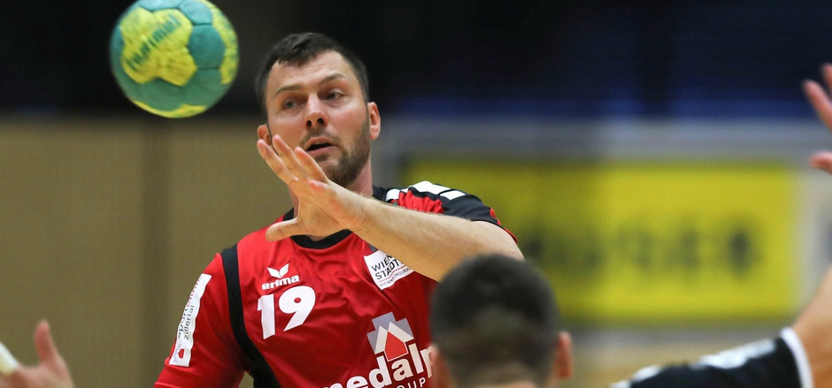 Tirols Handball-Urgestein Mindaugas Andriuska.