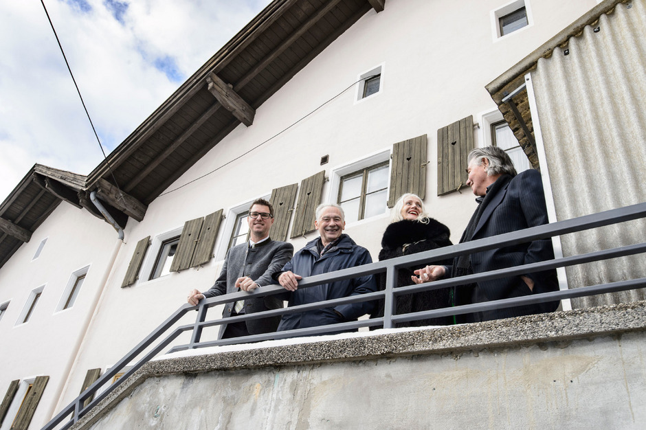 BM Christian Härting, Felix Mitterer, GF Silvia Wechselberger und Klaus Rohrmoser (v.l.) luden kürzlich zur Programmpräsentation.
