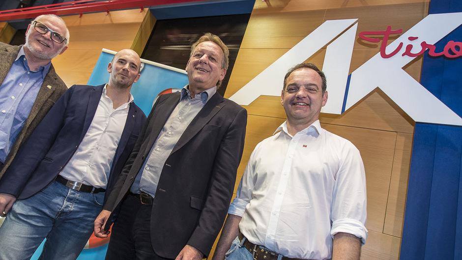 Wieder sind mit Helmut Deutinger (Grüne), Patrick Haslwanter (FPÖ), Erwin Zangerl (ÖVP/FCG) und Stephan Bertel (FSG/SPÖ) vier Fraktionen in der AK-Vollversammlung vertreten. Gewerkschaftlicher Linksblock, die Liste Soli und KOMintern verfehlten den Einzug