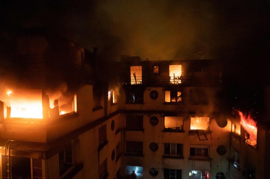 Zehn Menschen kamen bei dem Brand ums Leben.