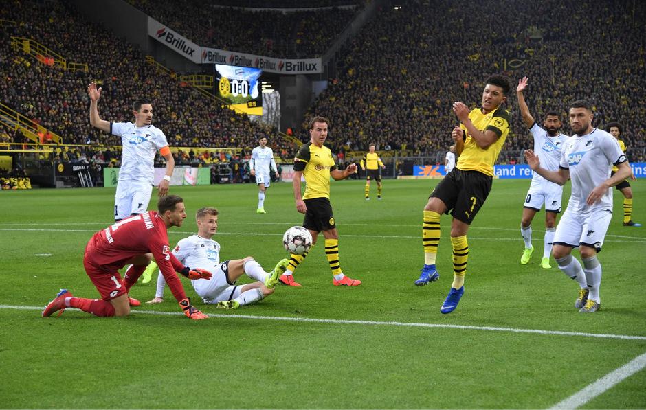 Dortmund gegen Hoffenheim: Umkämpft bis zur letzten Minute.