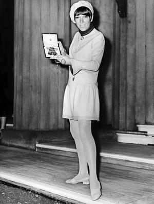 Mary Quant 1966.