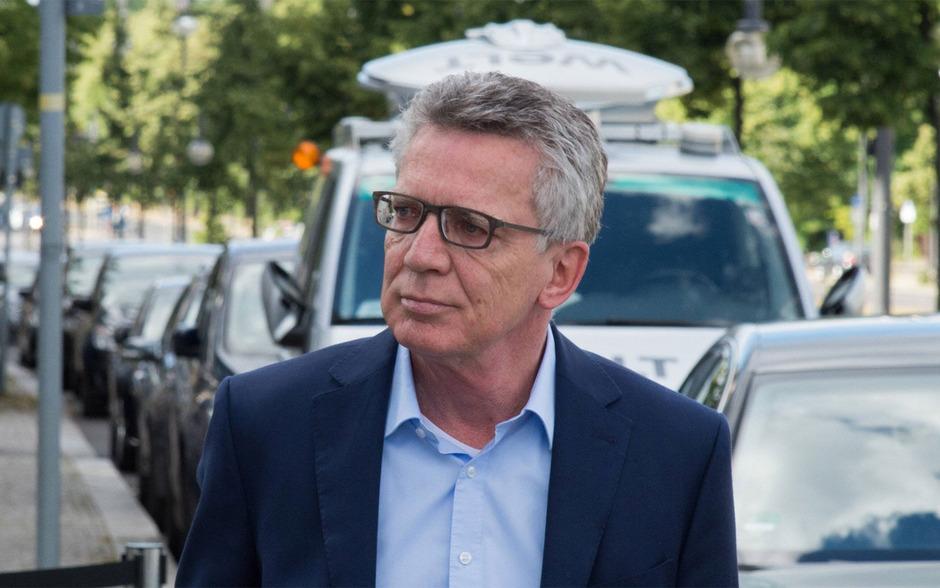 Der frühere deutsche Innenminister Thomas de Maiziere (CDU).