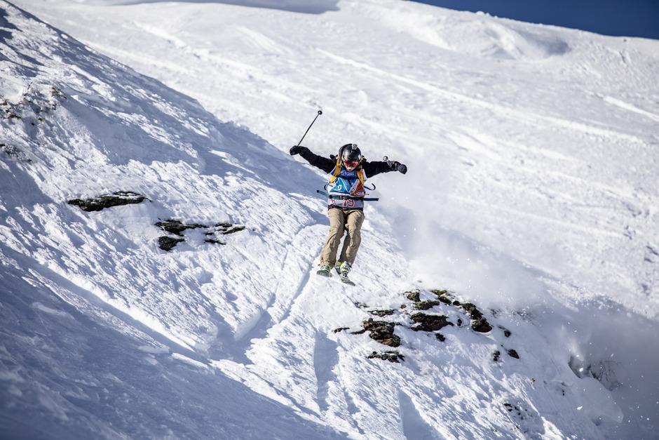 Vom Wiedersbergerhorn ging es steil talwärts.