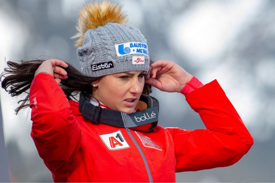 War nach Platz vier gefrustet: Stephanie Venier.