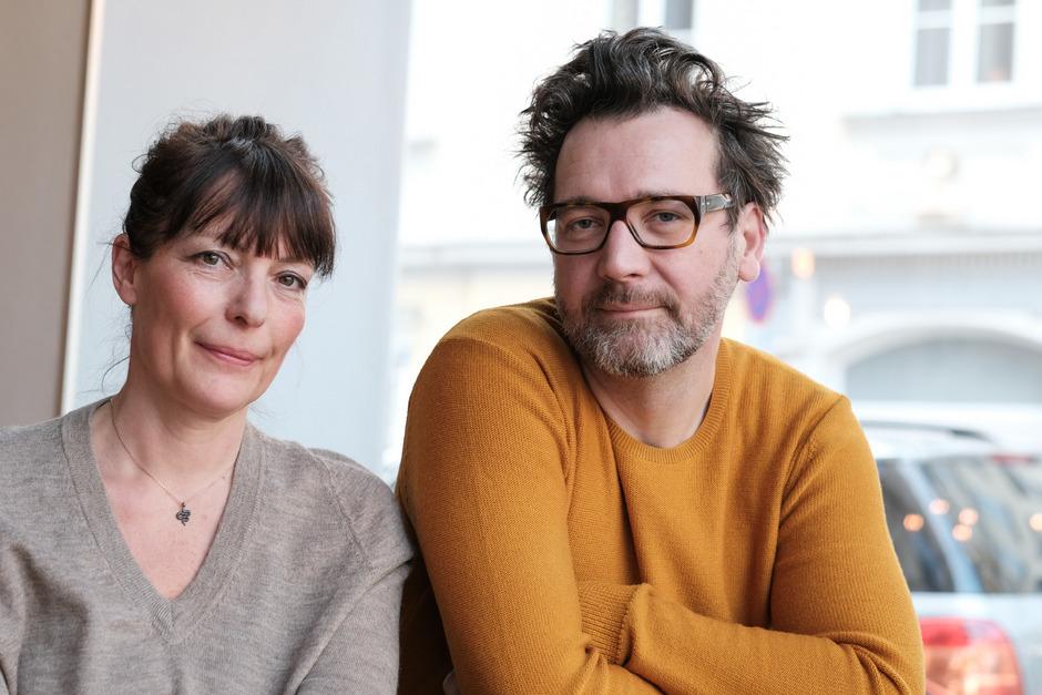 """Evi Romen und David Schalko sind die Masterminds der Serie """"M – Eine Stadt sucht einen Mörder""""."""
