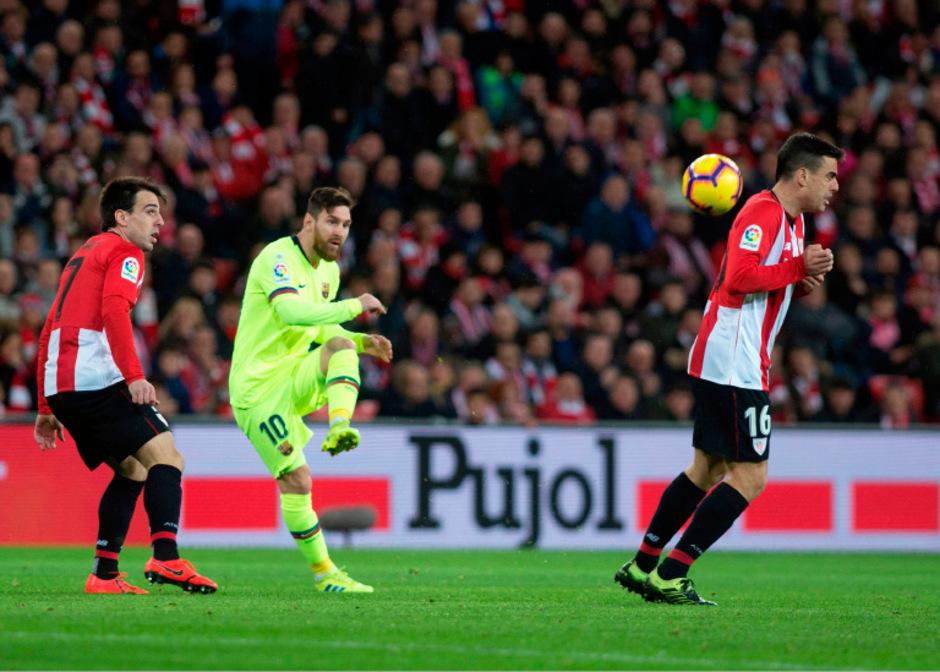 Lionel Messi und Co. konnten im Baskenland nicht auftrumpfen.
