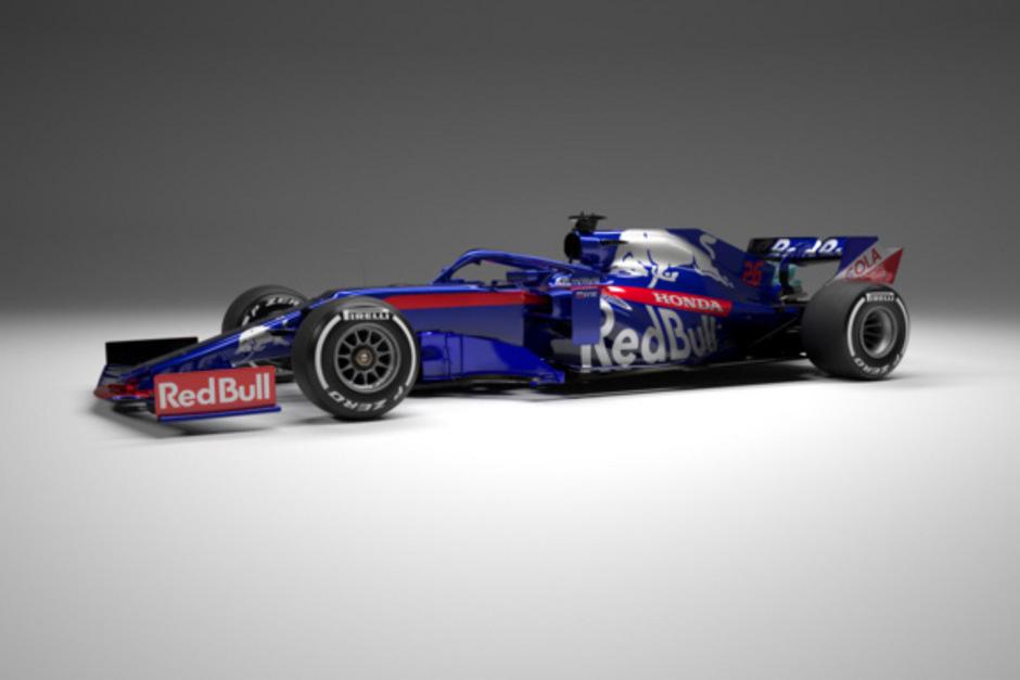 Der Toro Rosso für die kommende Formel-1-Saison 2019 kann sich sehen lassen.