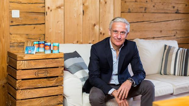 Hans Vriens hat früher Energydrinks verkauft, jetzt setzt er auf Relaxation.