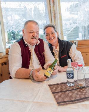 Mit ihrem Entschleuniger-Getränk waren die Götzner Johann und Gabriela Dürr schon mehrfach im Fernsehen.