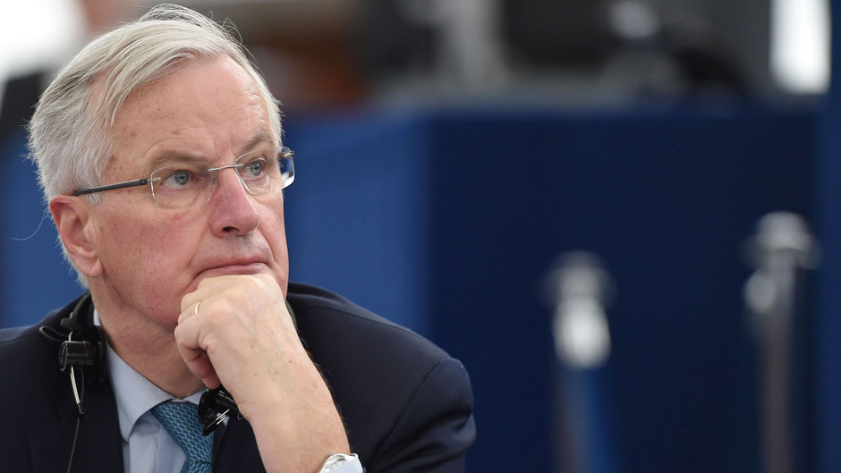 """EU-Chefunterhändler Michel Barnier findet den Vorschlag von Jeremy Corbyn """"interessant im Ton und in der Sache""""."""