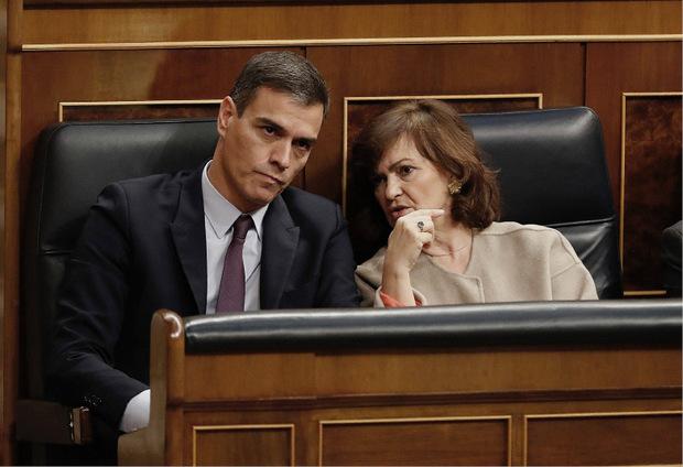 Ministerpräsident Pedro Sánchez ist auf die Stimmen der Katalanen angewiesen.