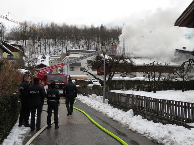 Die Feuerwehren Kolsass, Weer und Wattens waren im Einsatz.