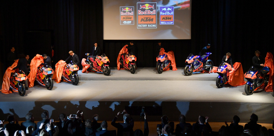 Die neuen KTM-Motorräder wurden in Mattighofen präsentiert.