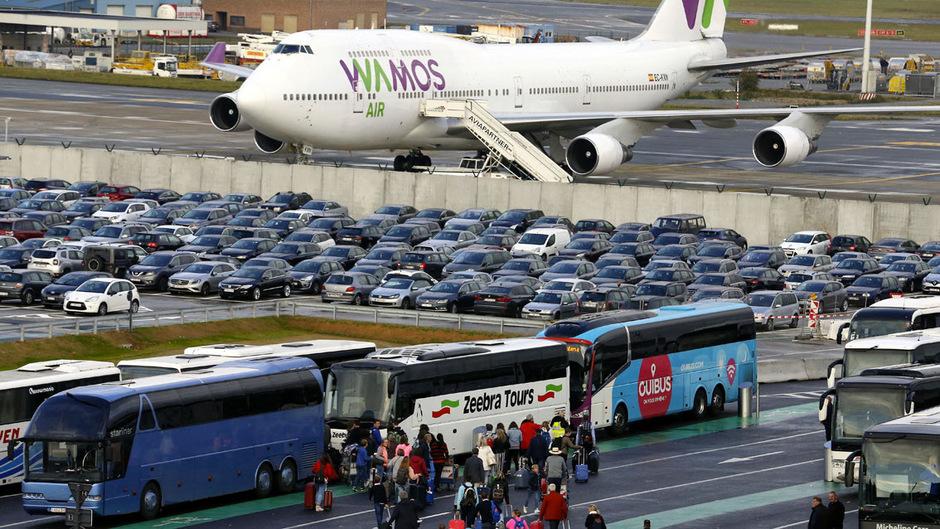 Schon im Herbst wurde der Luftverkehr in Belgien lahmgelegt.