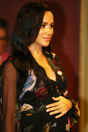 Herzogin Meghan ist im siebten Monat schwanger.