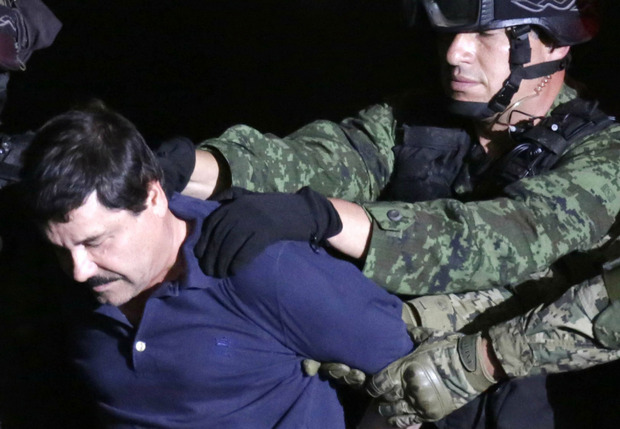 Joaquín Guzmán ist derzeit in einem Hochsicherheitsgefängnis in Manhattan eingesperrt.