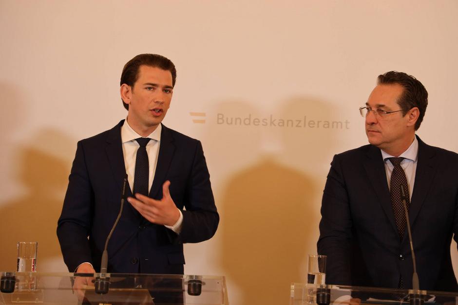 """Kanzler Kurz nach dem Ministerrat: """"Wir wollen mehr Väter-Beteiligung."""""""
