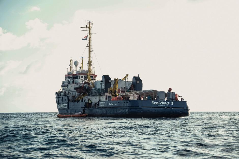 Ein Schiff der Hilfsorganisation Sea Watch (Archivfoto).