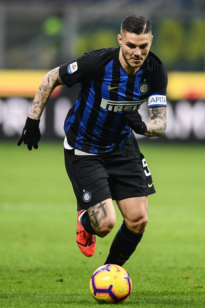 Fast dreimal so viel wert wie der Rapid-Kader, aber nicht dabei: Inter-Superstar Mauro Icardi.