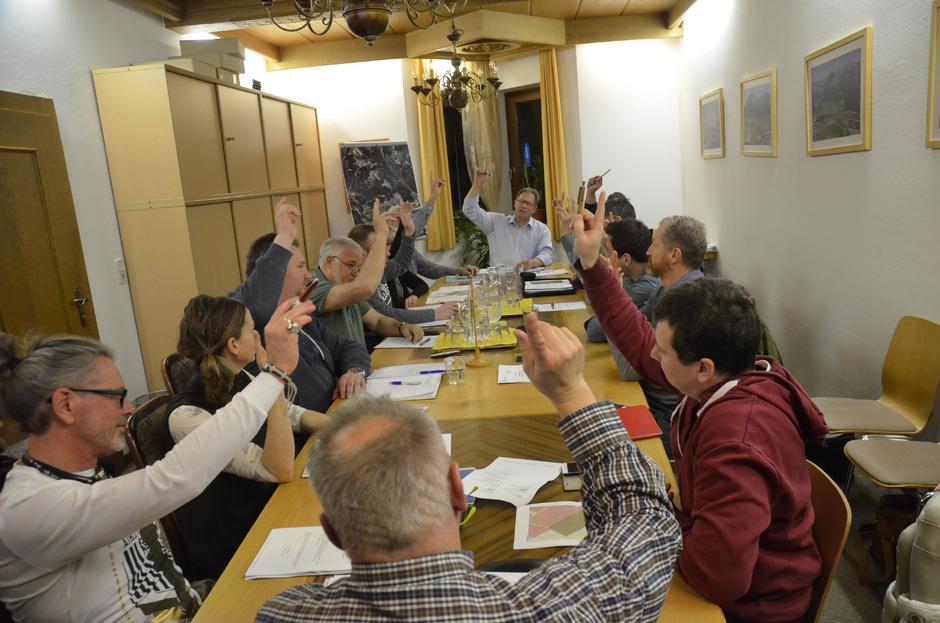 Einstimmig beschloss der Gemeinderat die Widmung und die Änderungen in Raumordnungskonzept.