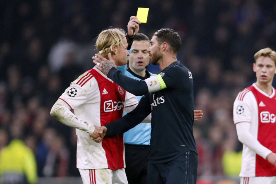 Absichltliches Gelb? Ramos droht nach seinen Aussagen Ärger.