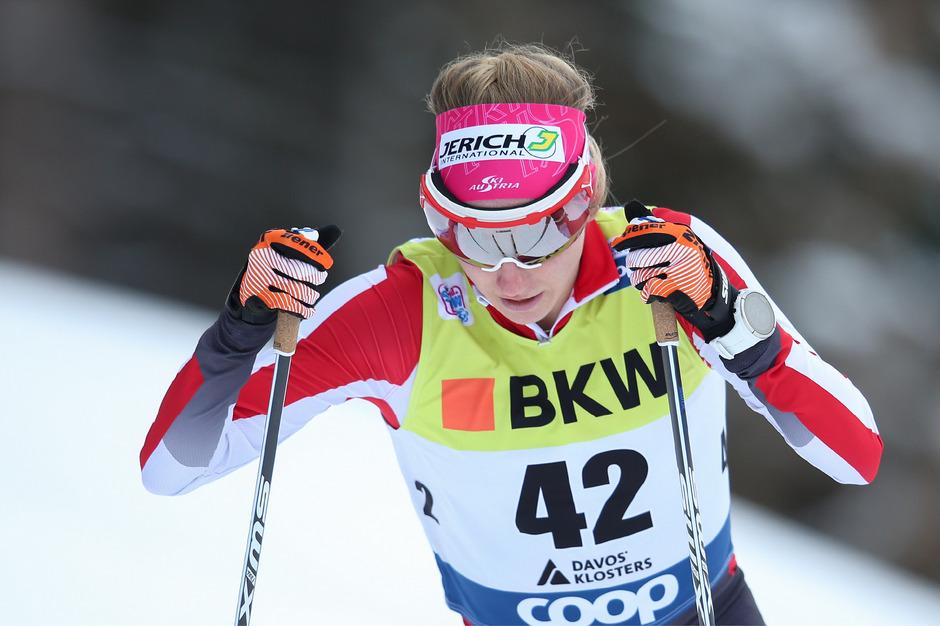 Österreichs Langlauf-Aushängeschild Teresa Stadlober.