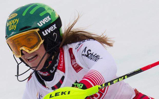 Bittere Vierte: Katharina Liensberger.
