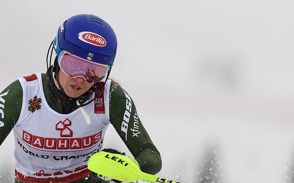 Mit überragendem zweiten Lauf zu Gold: Mikaela Shiffrin.