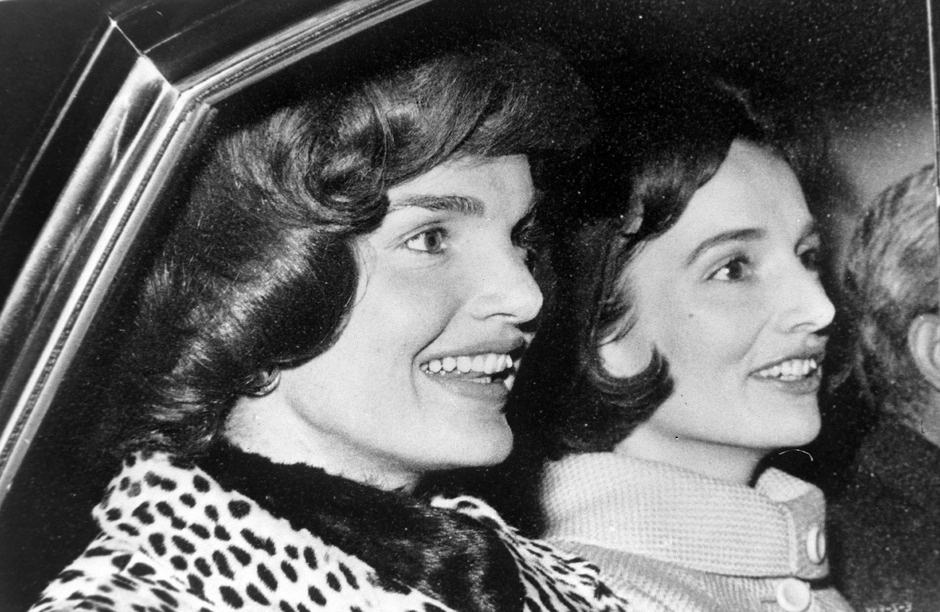 Jackie Kennedy mit ihrer Schwester Lee Radziwill.