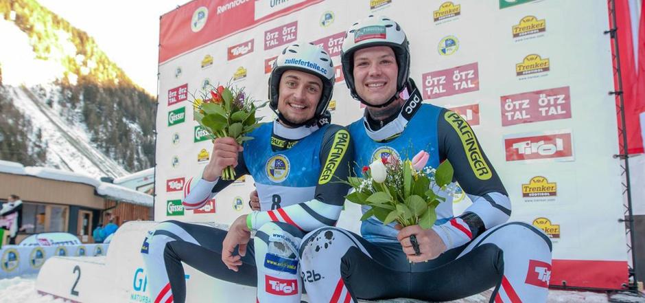 Mit einem Lächeln beendeten der Tiroler Tobias Angerer (l.) und sein Salzburger Teamkollege Rupert Brüggler ihre Karrieren.