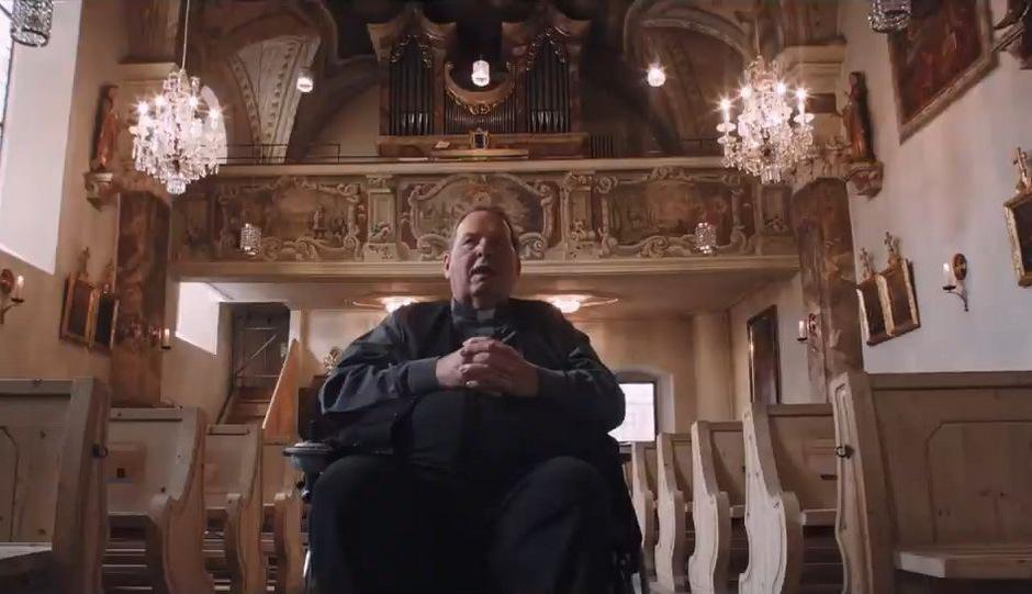 Ottfried Fischer in einer Szene des Otto-Neururer-Films.