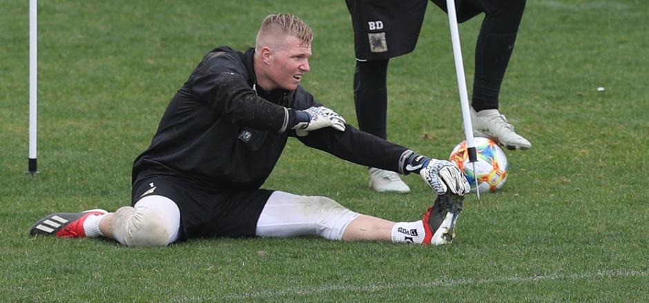 Wacker-Goalie Knett genießt neue Leichtigkeit des Seins