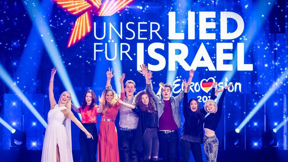 """Aus sieben Songs: Deutschland sucht sein """"ESC-Lied für Israel"""""""