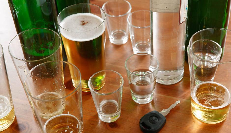 Im Sommer des Vorjahres kam es österreichweit zu 955 Alkoholunfällen mit Personenschaden. (Symbolfoto)