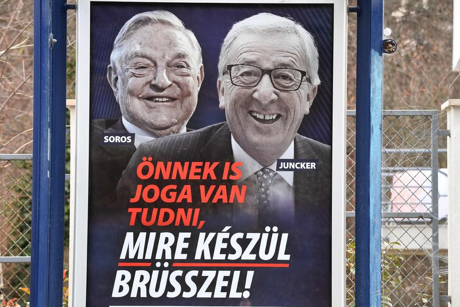 Anti-Migrationskampagne in Ungarn sorgt EU-weit für Aufsehen