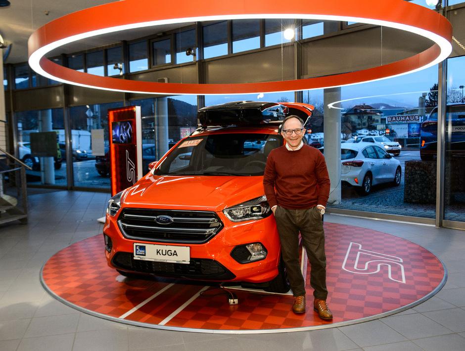 Michael Mayr führt mit dem Autopark den ältesten Ford-Händler Österreichs.